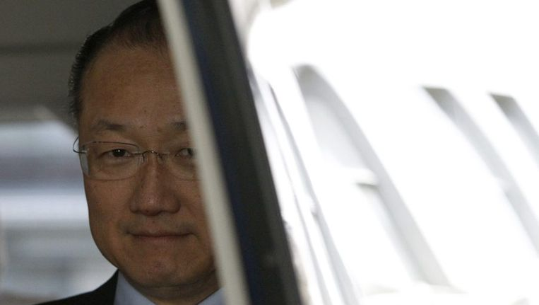 De Amerikaan Jim Yong Kim. Beeld reuters