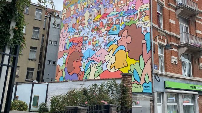 La 63e fresque du Parcours BD inaugurée à Laeken