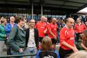 Dennis Verweijen vlak voor het benefietduel van Juliana Mill tegen een team van oud-profs. footo: Ed van Alem