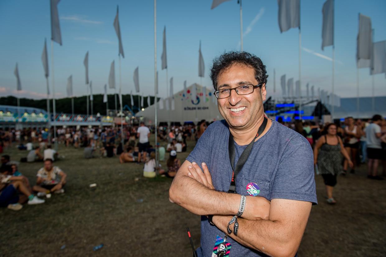 Pukkelpop-organisator Chokri Mahassine. Beeld BELGA