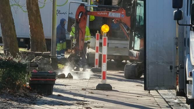 Eenrichtingsverkeer door nutswerken in Zandvliet