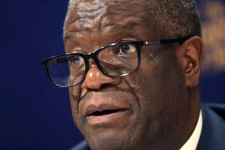 De Congolese arts Denis Mukwege kreeg in 2019 de Nobelprijs voor de Vrede. Beeld AFP