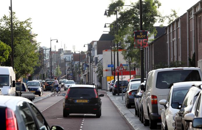 De Hoogstraat in Eindhoven.