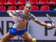 Tennissters weer naast China na opgave Xinyu Wang tegen Arantxa Rus