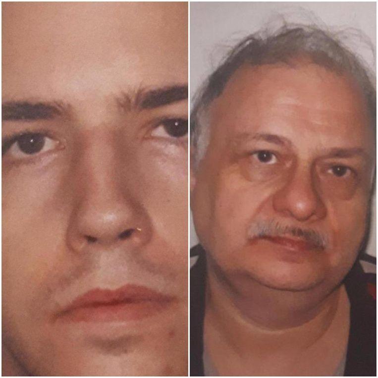 Jason Marshall (links) verstikte tijdens een seksspel zijn slachtoffer Peter Fasoli met een reep huishoudfolie. Daarna stak hij de woonst van Fasoli in brand. Beeld AP