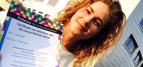 Femke de Vries (GroenLinks) met voorkeurstemmen in Schouwse raad