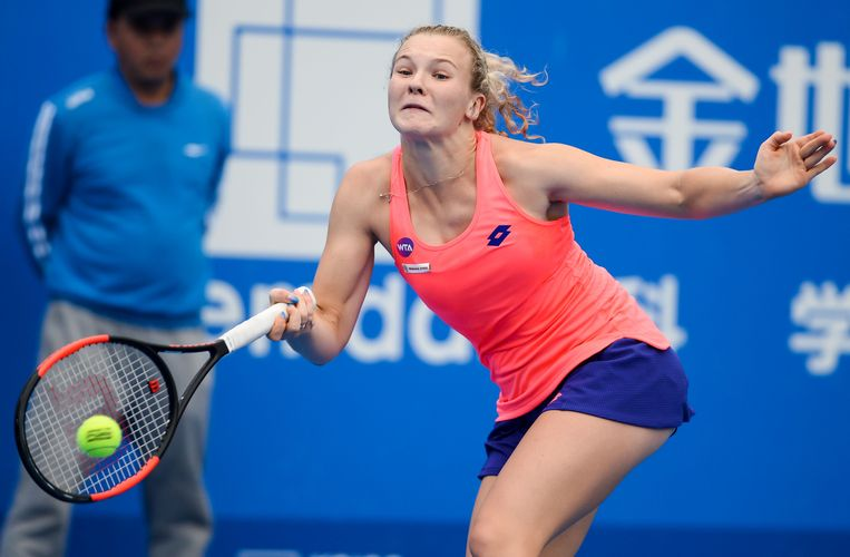 Katerina Siniakova. Beeld AFP