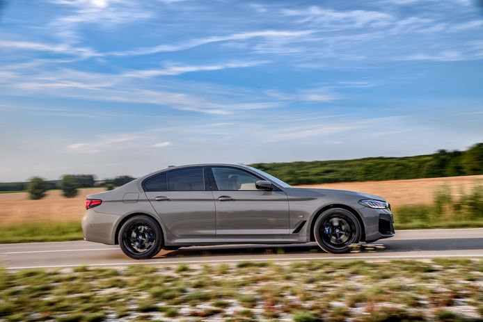 De nieuwe BMW 545e