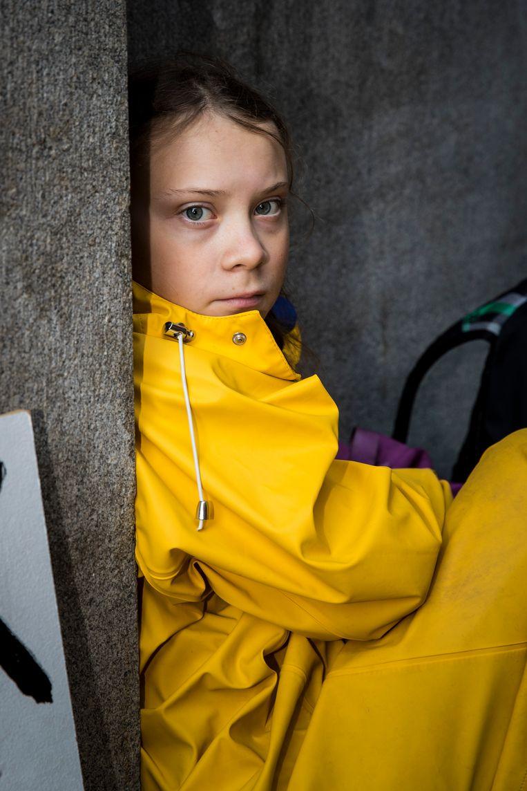 'Tot de schoolstakingen vond ik mensen van mijn leeftijd totaal oninteressant. Ze hadden ook niets met mij.' Beeld Getty Images