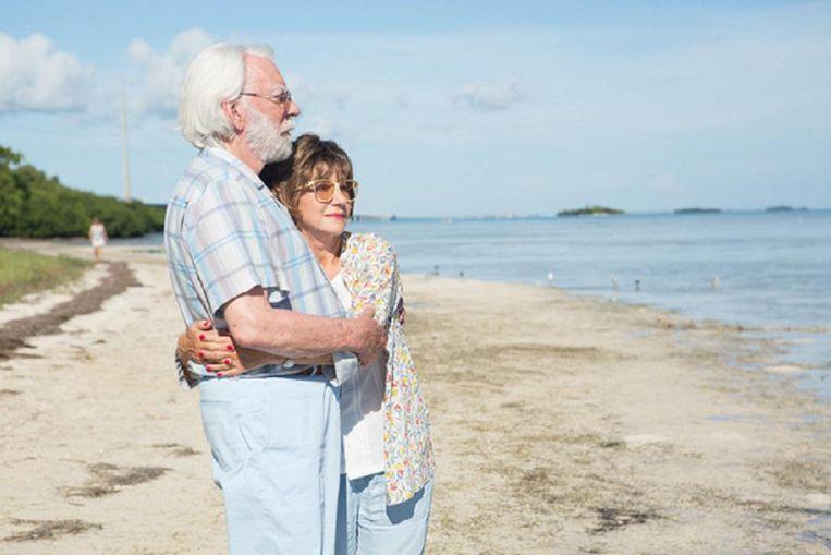 Hellen Mirren en Donald Sutherland in The Leisure Seeker Beeld