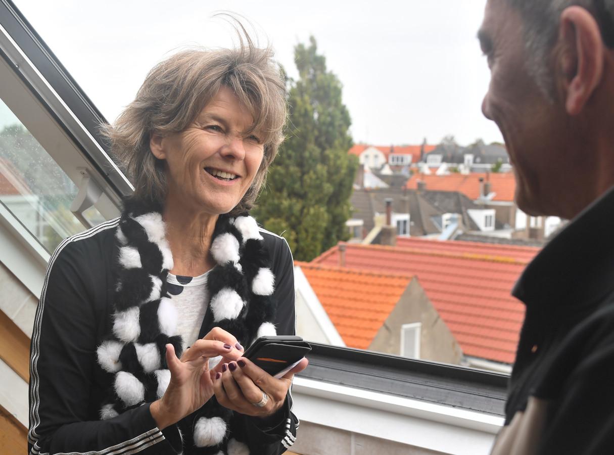 Helge Prinsen in gesprek met de volgende Vlissinger voor 'Ik ben Vlissingen': kunstschilder Ab van  Hanegem.