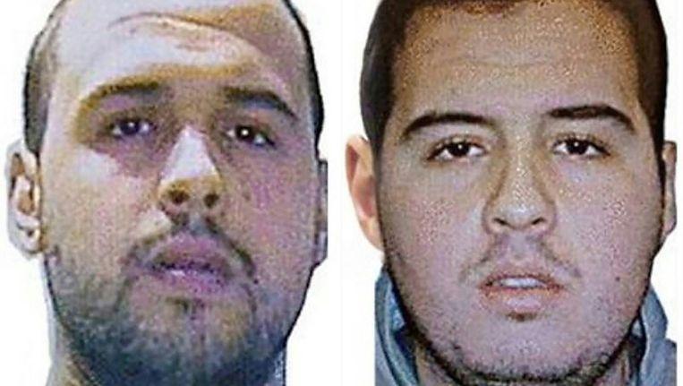 Khalid El Bakraoui (links) is samen met zijn broer Ibrahim (rechts) een van de drie hoofdverdachten van de aanslagen Beeld anp