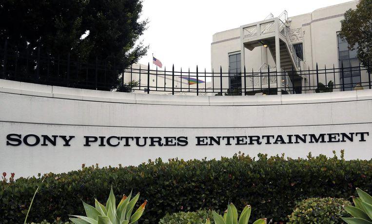 Het hoofdkwartier van Sony Pictures Entertainment in Culver City, Californië. Beeld AP