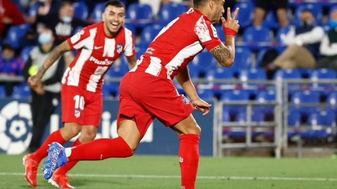 L'Atlético Madrid arrache la victoire à Getafe grâce à un doublé de Suarez