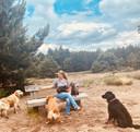 Heidi van Sambeeck neemt honden op vakantie terwijl de baasjes thuisblijven.