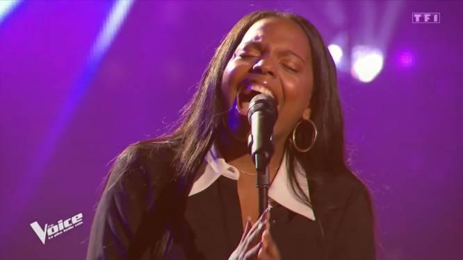 Mentissa uit Denderleeuw is finalist van 'The Voice' in Frankrijk