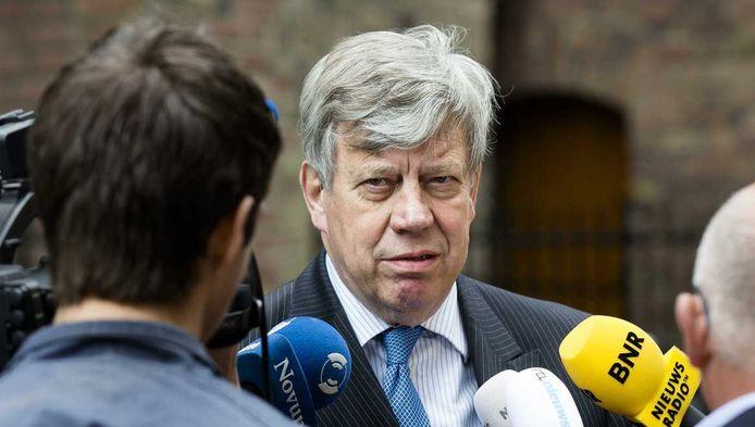 Minister Ivo Opstelten van Veiligheid en Justitie