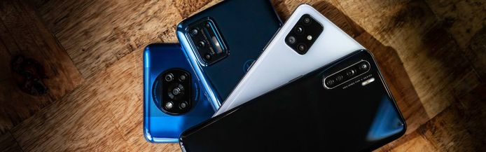 Smartphones tot 250 euro