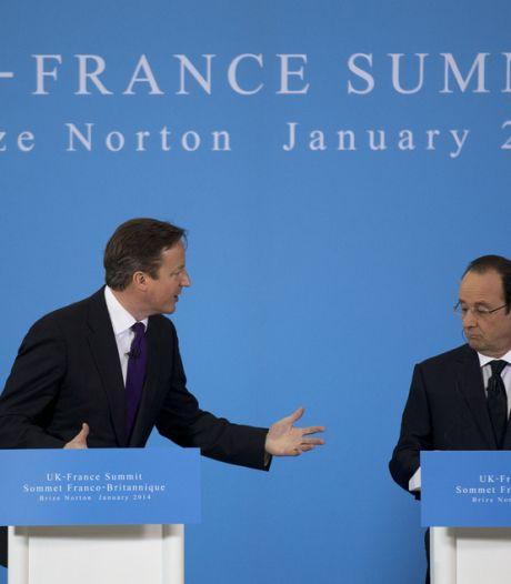 David Cameron offre son soutien à Hollande en Afrique