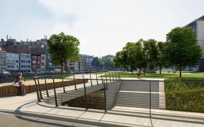 De nieuwe Tweegatenbrug