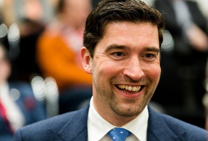 D66-fractieleider Robert van Asten.