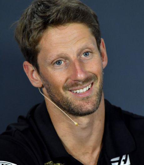 Trois mois après son accident, Romain Grosjean reprend le volant