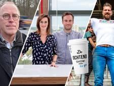 'The Dutch Giant' en verkeersdeskundige Ruud Hornman in De Ochtend Show to go