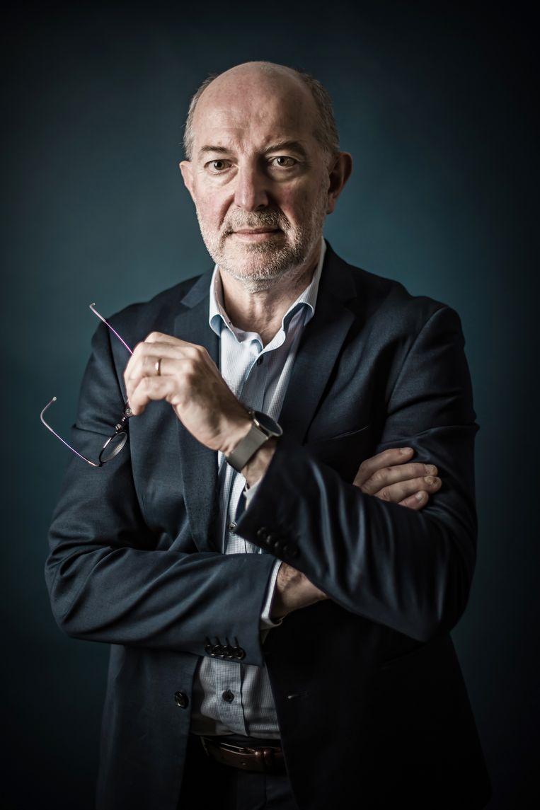 'Als je alle jongeren onder de 18 niet vaccineert, raak je nooit aan die groeps-immuniteit, want dan blijven een kleine twee miljoen Belgen vatbaar voor het virus' Beeld Geert Van de Velde