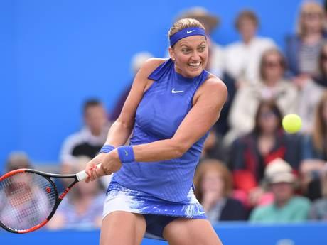 Kvitova ziet zichzelf niet als favoriet voor Wimbledon