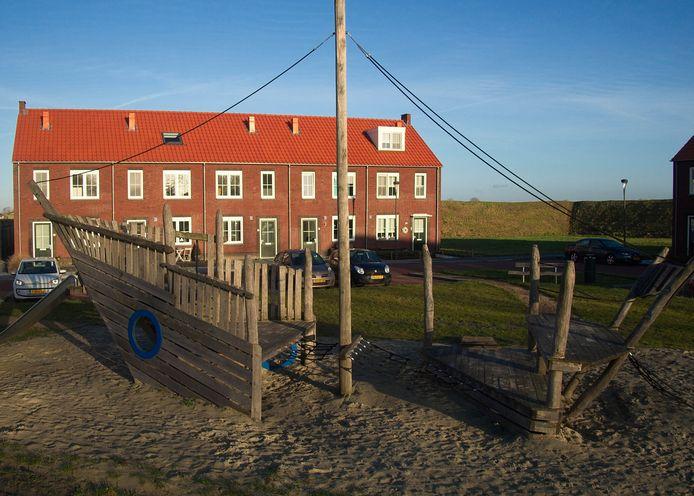 De Groote Jonkvrouw in IJzendijke in 2016. Alle huizen in de wijk waren snel verkocht.