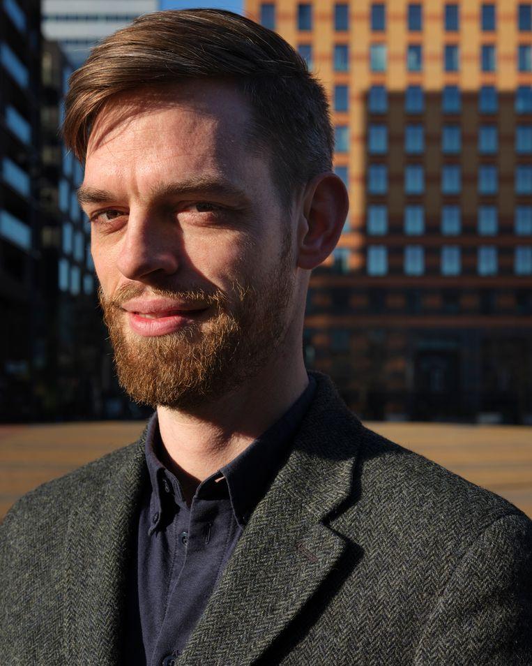 David van der Meulen (34), is pionier namens de Protestantse Kerk in Zuid. Beeld Erik Smits