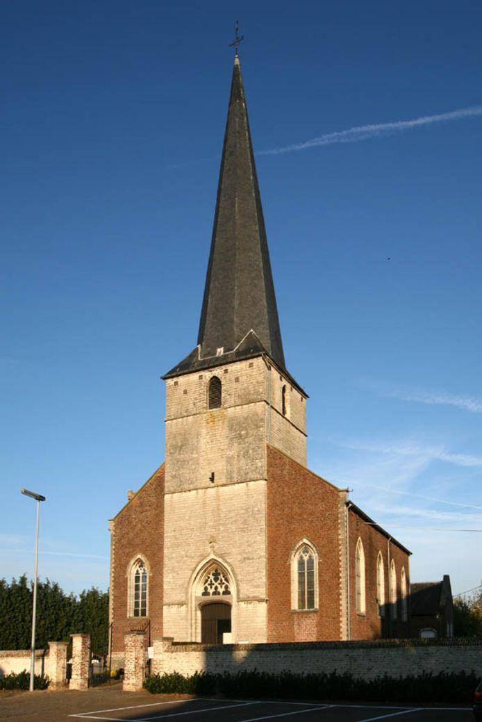 De Sint-Annakerk in Boutersem.