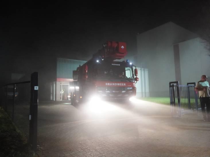 Veel rookontwikkeling bij brand in bedrijfspand in Asten