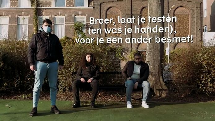Jongeren uit Schilderswijk hebben een film gemaakt om mensen te waarschuwen voor het coronavirus.