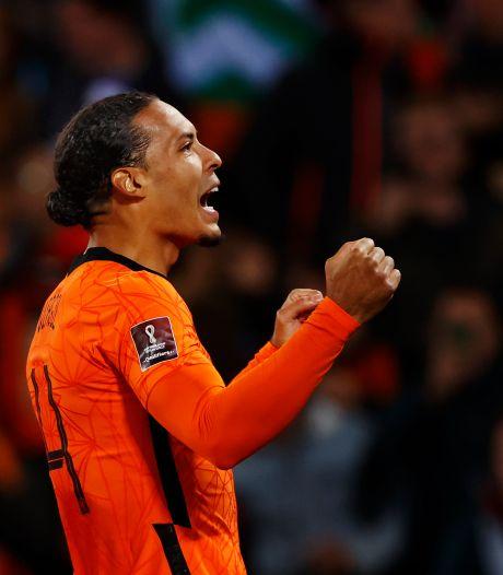 Virgil van Dijk als halve aanvaller tegen Gibraltar: 'Zat echt op die goal te wachten'