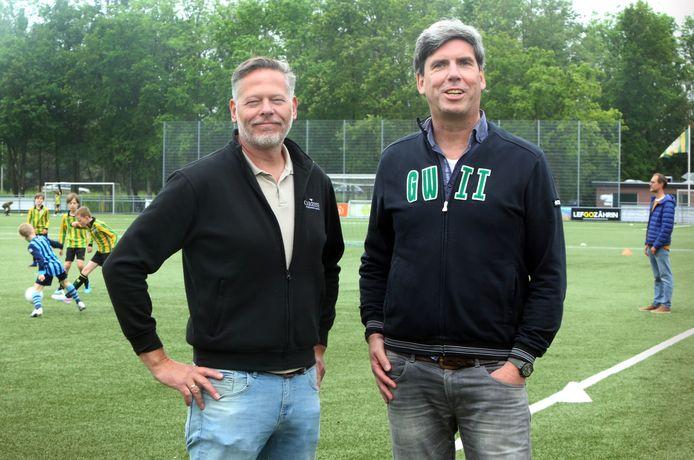 De GraafWillem-bestuurders Thomas Franz en Remi Smeets.