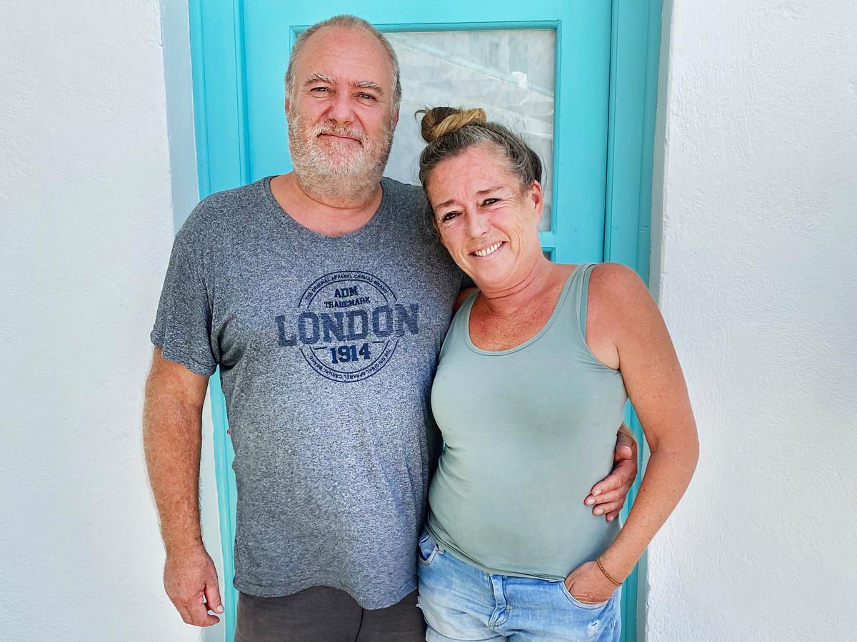 Peter Letzel en Oona Giesen wonen sinds 2008 op Paros.