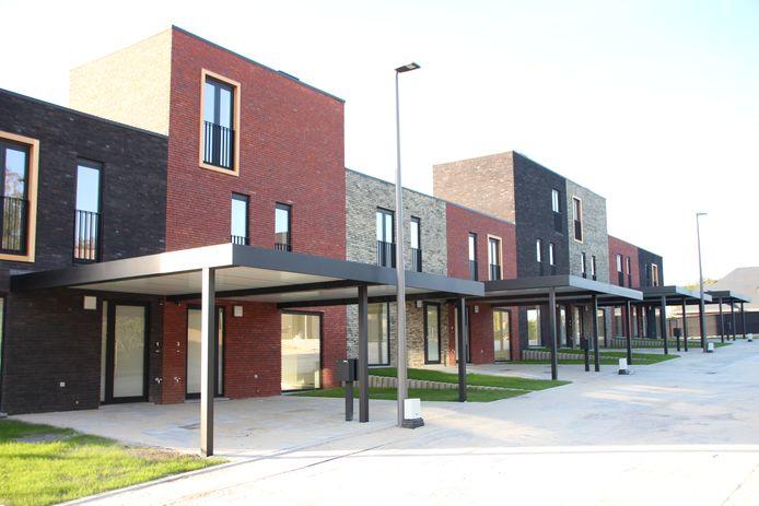 Foto ter illustratie van sociale woningen (niet in Zele).