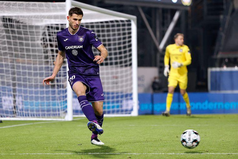 Anderlecht-verdediger Matthew Miazga is een van de Amerikaanse profs in België. Hij speelt vanavond tegen Eupen. Beeld Photo News