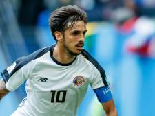 Bryan Ruiz maakt transfer naar Brazilië