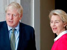 "Von der Leyen et Johnson pointent ""d'importantes divergences"""