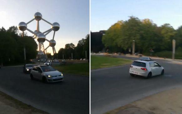 De straatraces beroeren al een tijdje de omwonenden van het Atomium. Zaterdag wist de politie een wegpiraat te intercepteren. Zijn voertuig werd in beslag genomen.