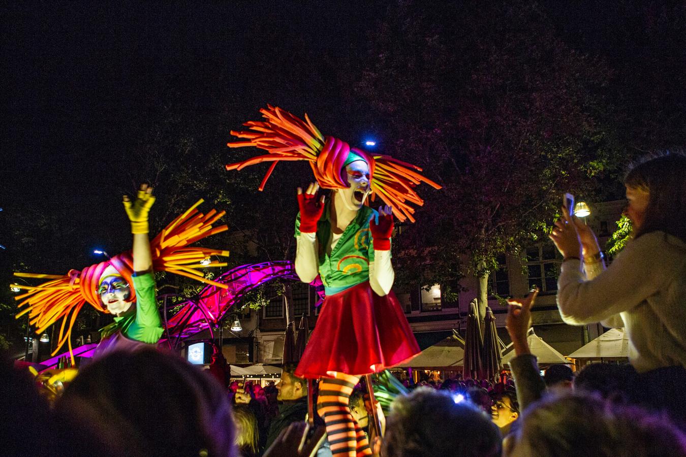 Deventer op Stelten in 2019. Dat was een toeristisch topjaar, maar blijkt financieel een debacle voor de organisatie van evenementen en stadspromotie.