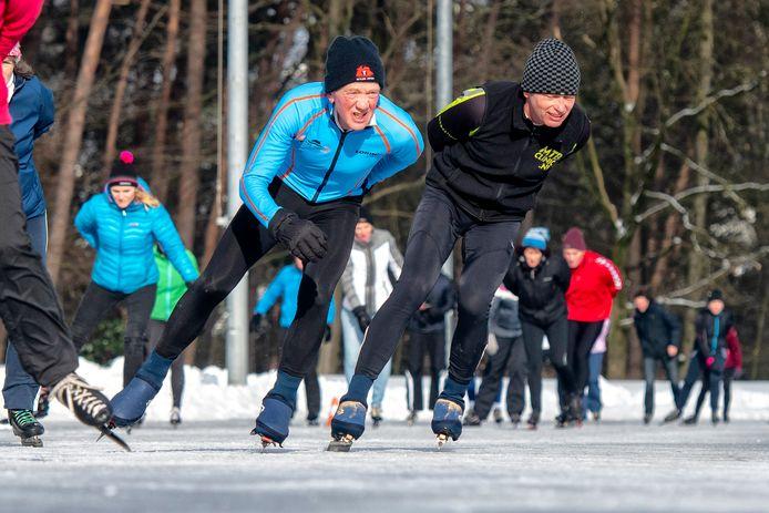 Afgelopen woensdag kon voor het eerst worden geschaatst op de baan op sportpark 't Cranevelt. Inmiddels is de ijspret weer voorbij.