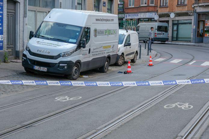 Ongeval met jonge voetganger in Schaarbeek