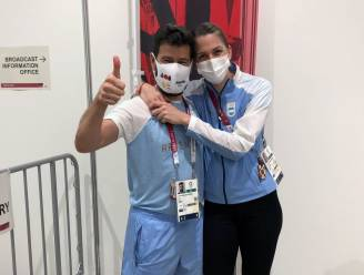 Argentijns sprookje in Tokio: schermster wordt na mislopen medaille ten huwelijk gevraagd door haar coach