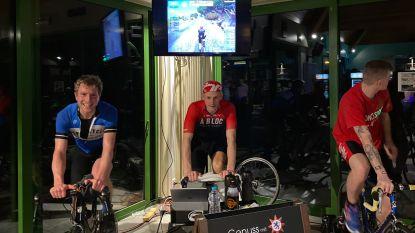 Van een bovenmenselijke prestatie gesproken: Tom Burms (32) fietste in 24 uur tijd 'Alpe d'Huez' 17 (!) keer op