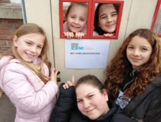 In De Vierboete leggen kinderen ruzies bij in complimentenhuisje