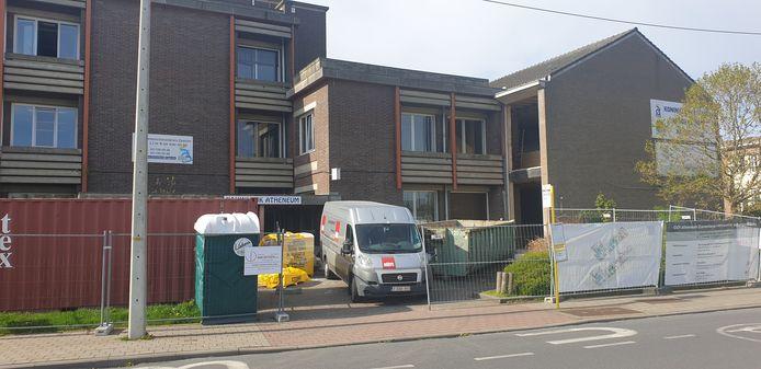 Het GO!-atheneum in Zaventem start met vernieuwingswerken.