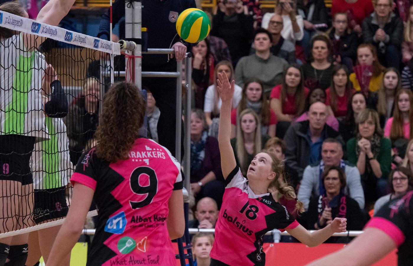 Zijn de volleybalsters van Fast straks kandidaat voor de sportprijs van Gennep?